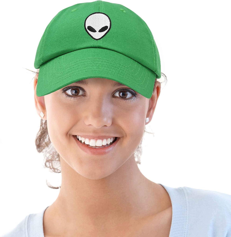 DALIX Alien Head Baseball Cap Mens and Womens Hat