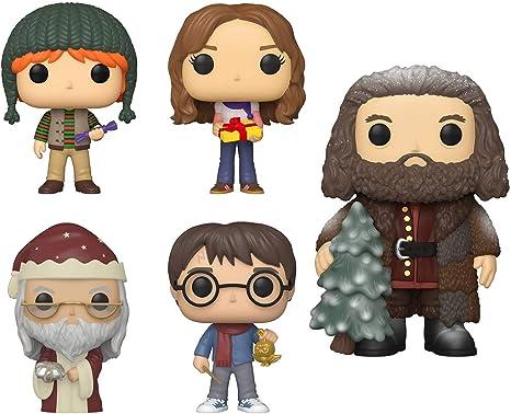 Funko Pop! Paquete de 5: Harry Potter Holiday - Harry ...