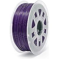 Gizmo Dorks 1.75mm PLA Filament 1kg/2.2lb for 3D Printers Dark Purple