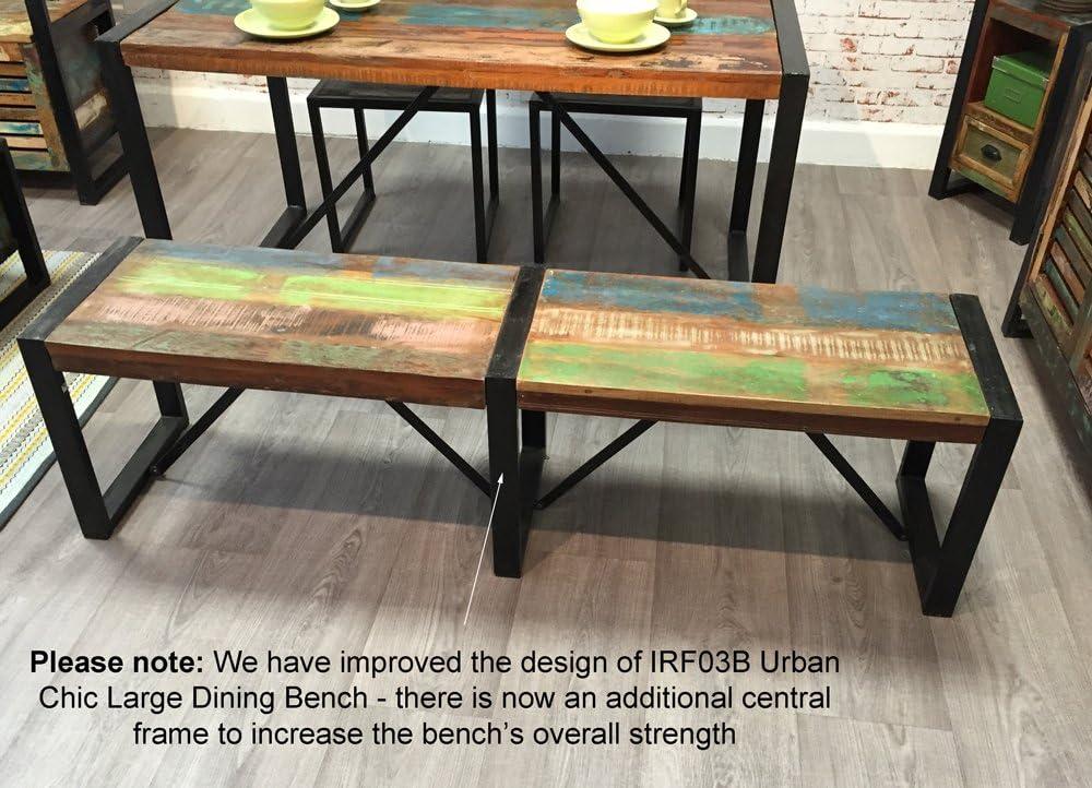 baumhaus IRF03B Urban Chic Large Dining Bench