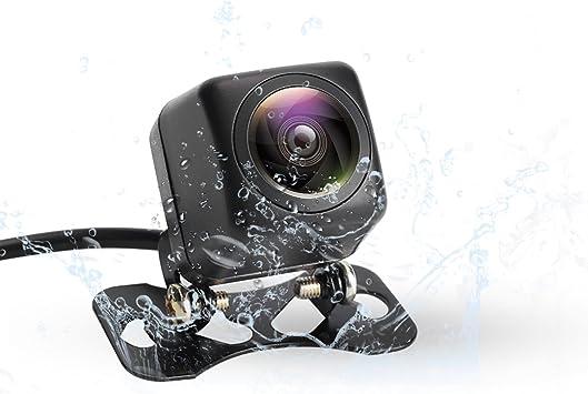 Imperm/éable /à leau HD Night Vision Cam/éra de Recul et 170 Degr/és Grand Angle Antichoc Vision Nocturne Camera Recul Voiture