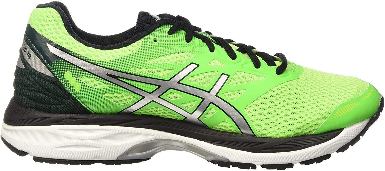 Asics Gel-Cumulus 18, Zapatillas de Running para Hombre, Verde (Green/White), 40 EU: Amazon.es: Zapatos y complementos