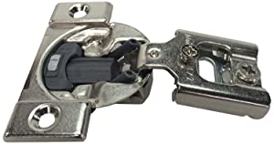 Blum 38N355BE08x50S Compact Soft-Close 1/2'' Overlay Blumotion Hinge, Nickel Finish (Pack of 50)