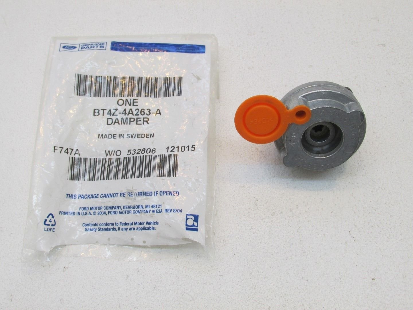 Ford BT4Z-4A263-A, Disc Brake Low Frequency Noise Damper