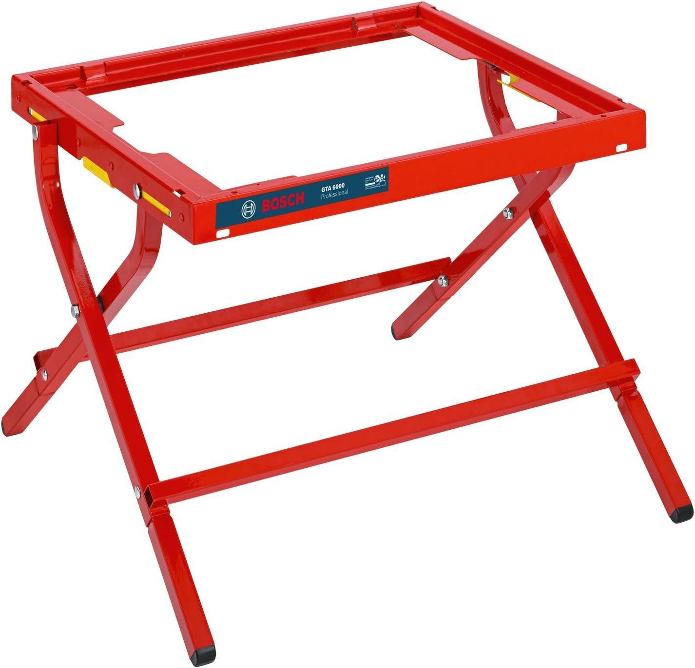 Bosch GTA 6000 - Mesa (75 cm, 60.2 cm, 12.5 kg) Rojo: Amazon.es ...