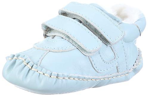 Baby Leder Krabbelschuhe Krabbel Schuhe dunkleblau Leder Schuhe Größe 17