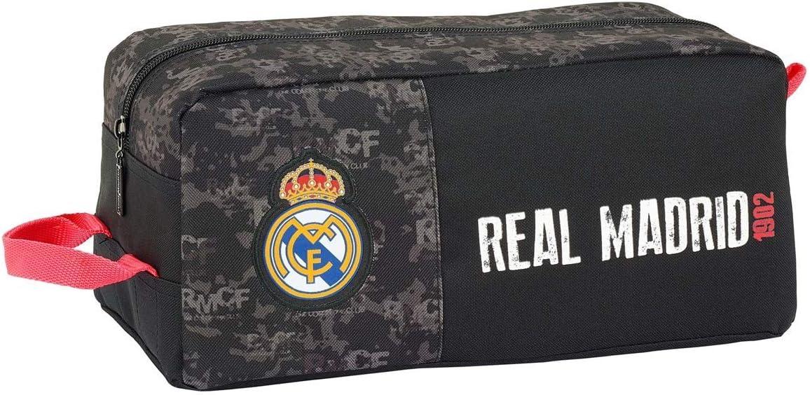 Real Madrid CF Bolso Zapatillas zapatillero 34 cm: Amazon.es: Juguetes y juegos