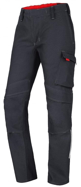 BP Pantalones de Trabajo 2610 - Soldador Pantalón Negro Antracita/Negro: Amazon.es: Ropa y accesorios