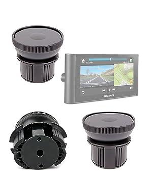 DURAGADGET-Soporte de coche para GPS para portavasos DURAGADGET Magellan RoadMate 1700LM, Garmin dezlCam LMT-D, nüviCam LMT D-base ajustable: Amazon.es: ...