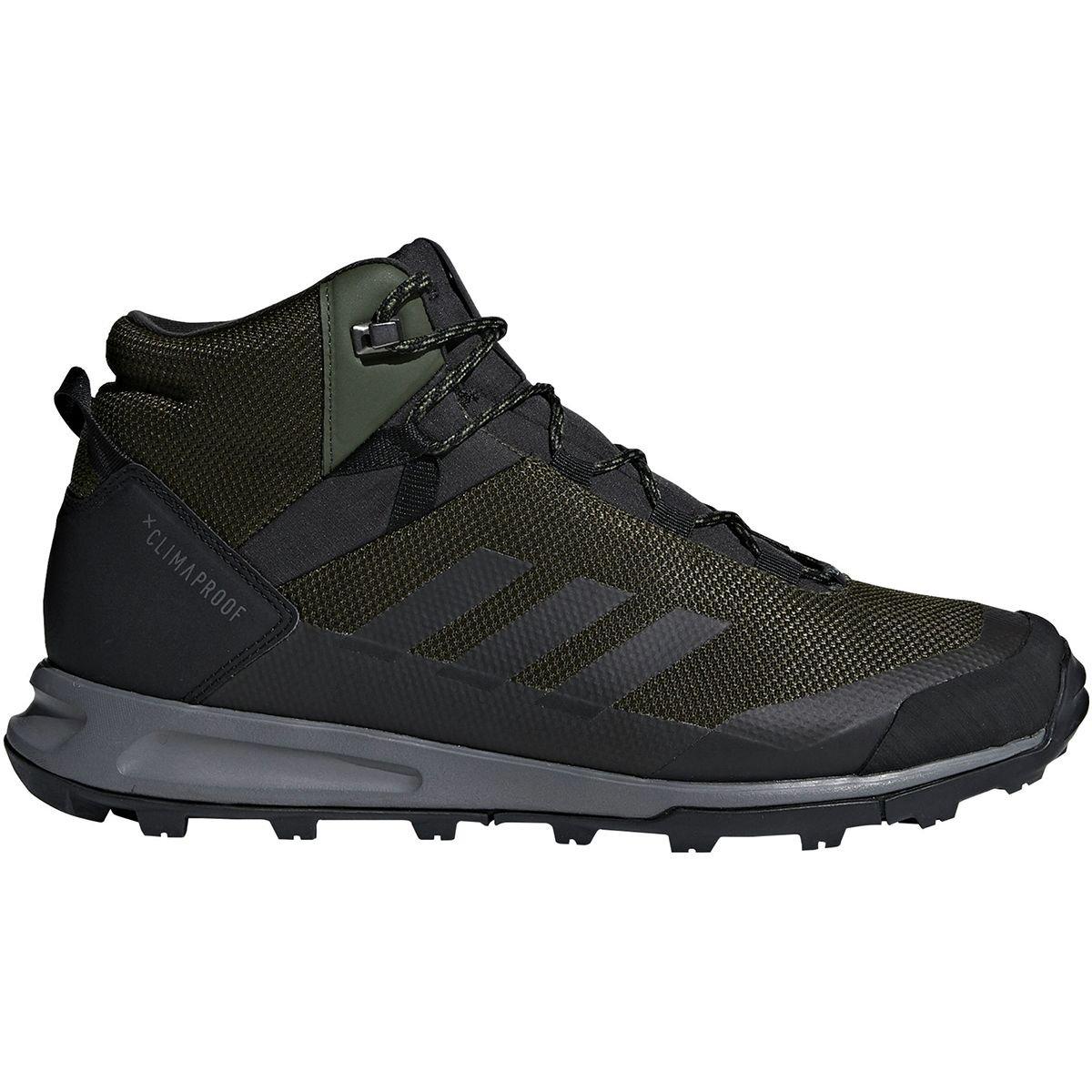 adidas outdoor Men's Terrex Tivid Mid Cp Walking Shoe B078WG6ZJ4 13 D(M) US|Night Cargo/Black/Grey Four
