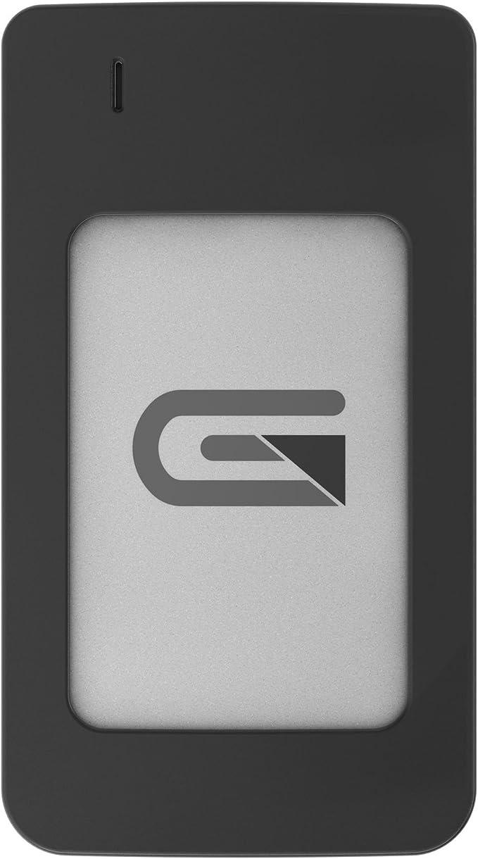AR500SLV External USB-C, USB 3.0, Thunderbolt 3 Glyph Atom RAID SSD 500GB Silver