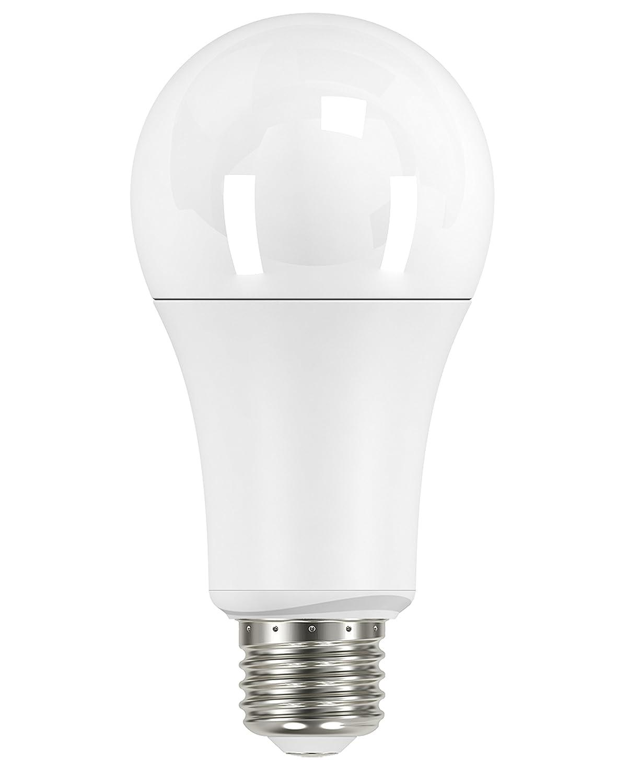 Satco S9802 Series 15 watt; A21 LED; 2700K; Medium Base; 240 Beam Spread; 120 Volts; 4-Pack Warm White 4 Piece