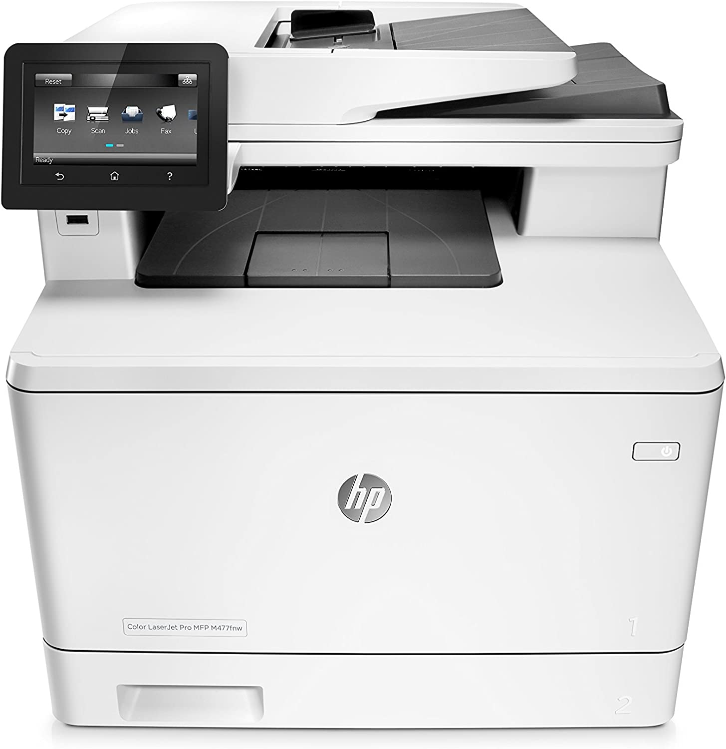 HP Laserjet Pro M477fnw Multifunction Wireless Color Laser Printer with Built-in Ethernet (CF377A) (Renewed)