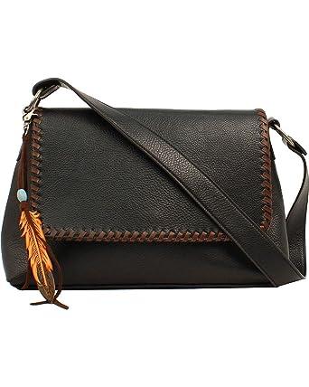 dab2001336b5 Amazon.com  Blazin Roxx Women s Teagan Shoulder Bag