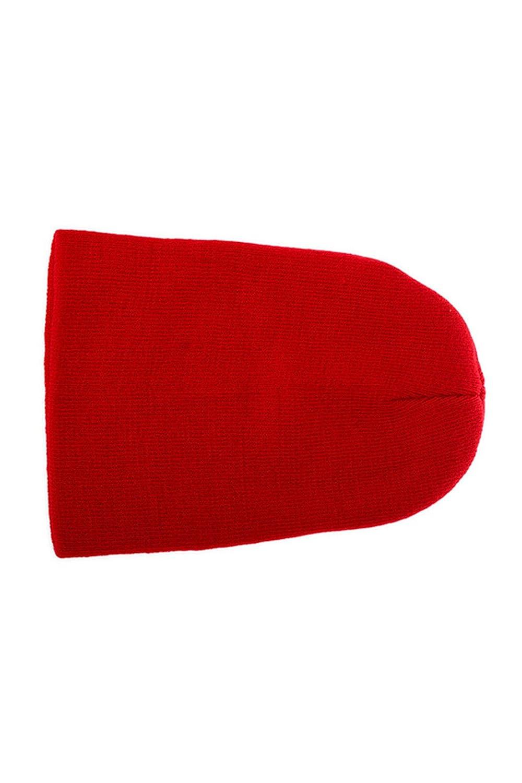 Wolleschutzkappe - TOOGOO (R) Winter Beanie Knit Warme Ski Kappe Wolle Strickmuetze (rot)