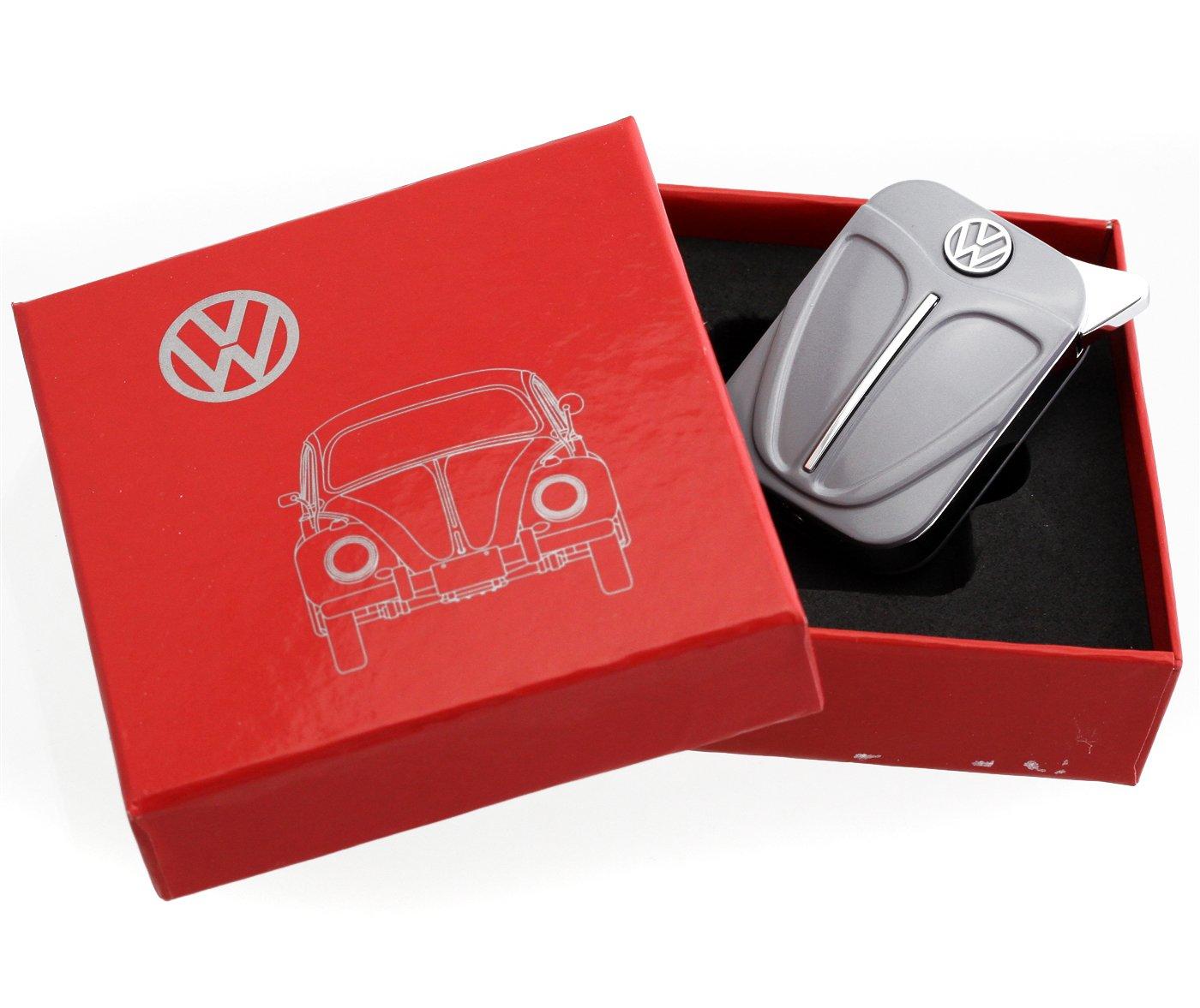 Briquet volkswagen - Différentes couleurs avec emblème de la marque de la célèbre marque de voiture (Orange)