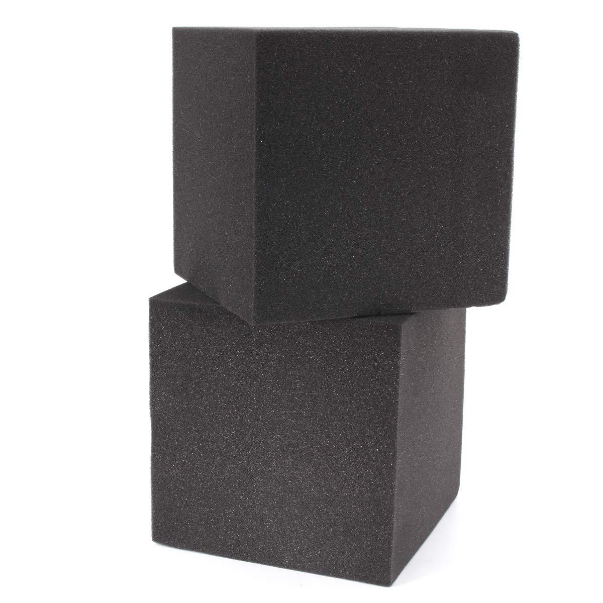 b7eed544f91 MYAMIA 2Pcs 20x Insonorizada Espuma Absorción Cubo Estudio Acústica Sala De  Música Tratar 20x20x20Cm  Amazon