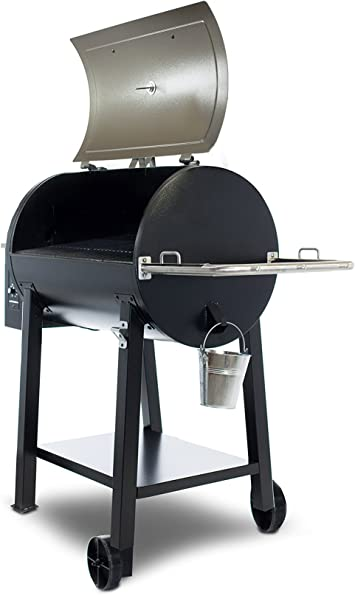 Amazon Com Pit Boss 72440 Pb440d Lgrill 440 Deluxe Wood Pellet Grill Square Inches Stainless Steel Garden Outdoor