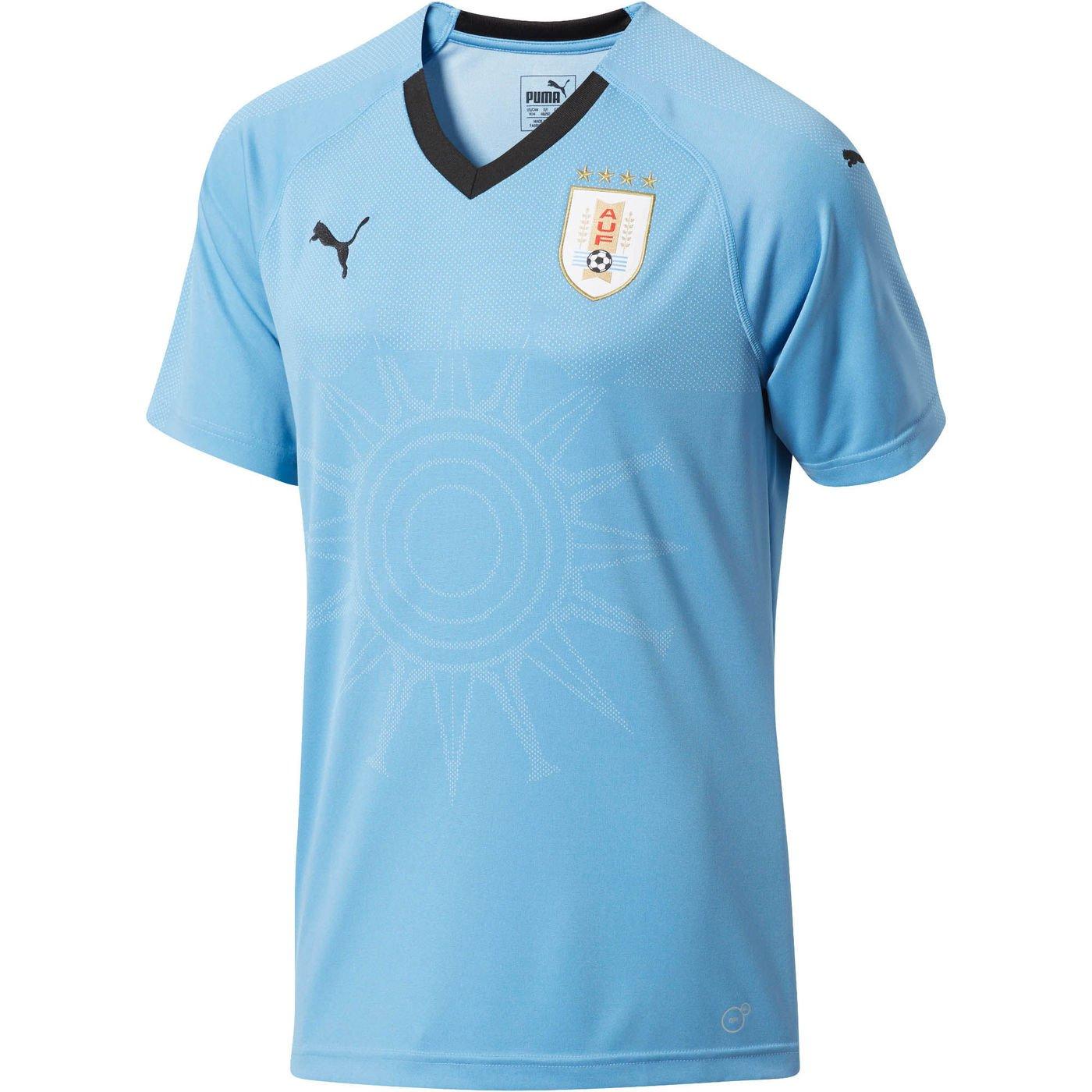 2018-2019 Uruguay Home Football Soccer T-Shirt Trikot (Diego Godin 3)