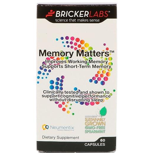 Amazon.com: Memory Matters: Health & Personal Care