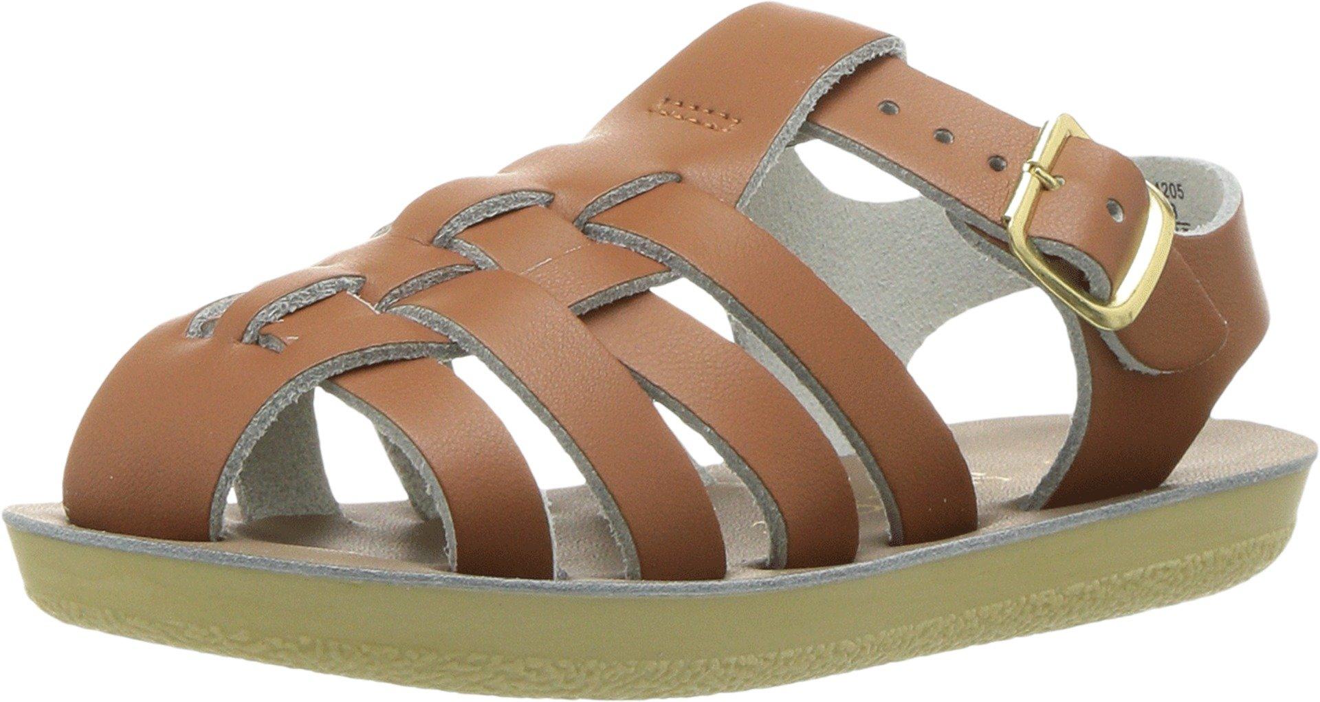 Salt Water Sandals by Hoy Shoes Unisex Sun-San - Sailors (Toddler/Little Kid) Tan 6 M US Toddler
