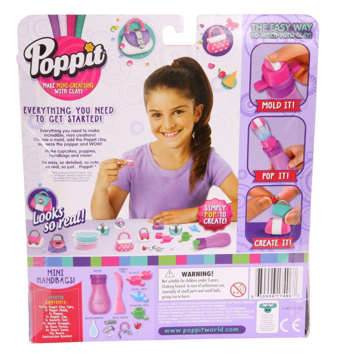 Mini Handbags Moose Toys 17406 Poppit Season 1 Starter Kit