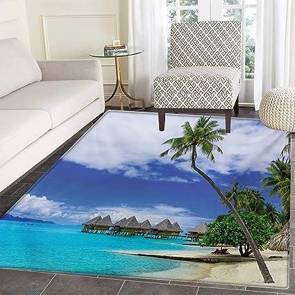 Amazon Com Tropical Door Mat Outside Water Bungalows