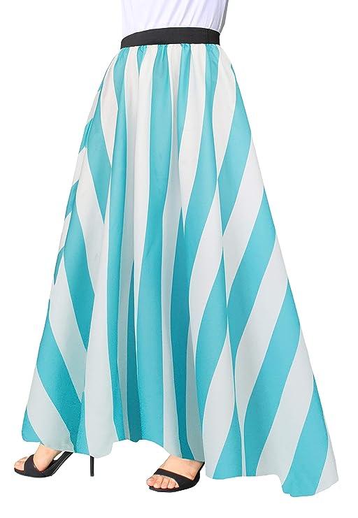 Victorian Skirts | Bustle, Walking, Edwardian Skirts Afibi Women Chiffon Mopping Floor Length Big Hem Solid Beach High Waist Maxi Skirt $20.99 AT vintagedancer.com