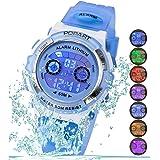 Kid Watch LED Sport 30M Waterproof Multi...