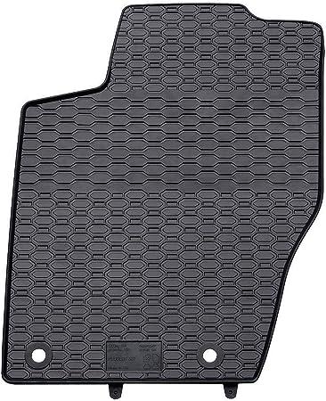 negro un ajuste perfecto 4-piezas 5902538448376 Mossa Alfombrillas de goma