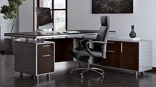 Zuri Furniture Kennedy Executive Desk