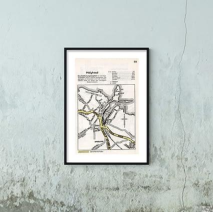 Map Of England Holyhead.Amazon Com 1941 Military Atlas Map Unternehmen Seelawe Operation