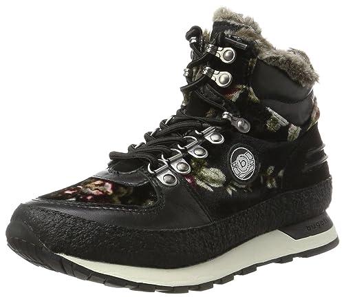 bugatti Damen 421285514069 Hohe Sneaker