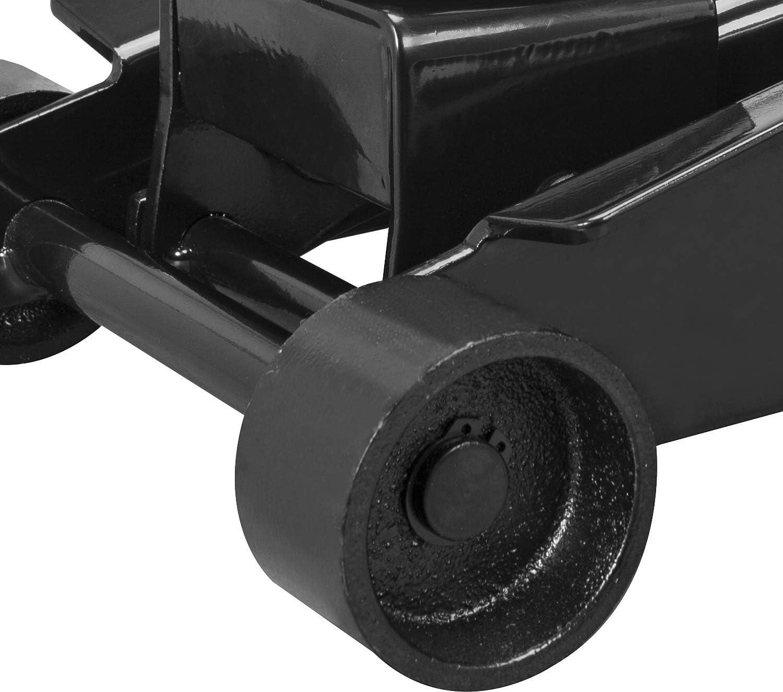 Capacity Torin ATZ830023B Hydraulic Heavy Duty Steel Service//Floor Jack with Dual Piston Quick Lift Pump Black 3 Ton 6,000 lb