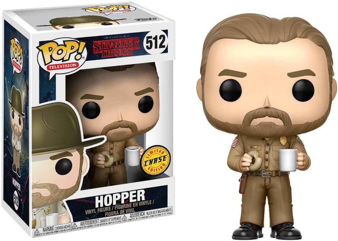 Funko Pop! Stranger Things -Hooper el oficial con Dona Chase !!!