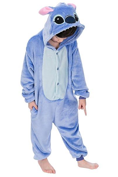 YAOMEI Pijama Unisex para niños, Pijama Kigurumi, Pijama de ...