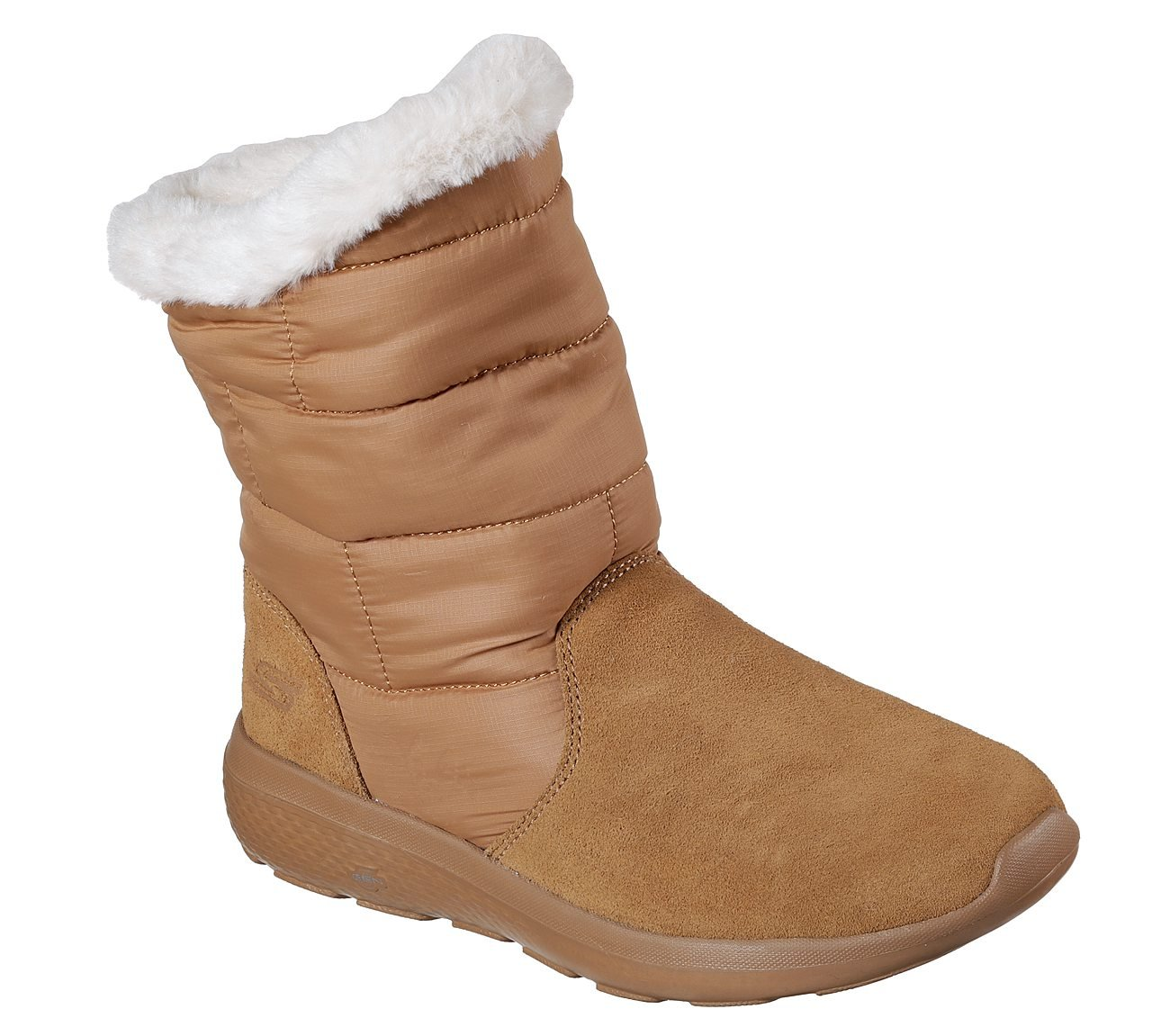 Skechers Women's On-The-Go City 2-Puff Winter US|Brown Boot B075TH5WZH 6 B(M) US|Brown Winter 48e949