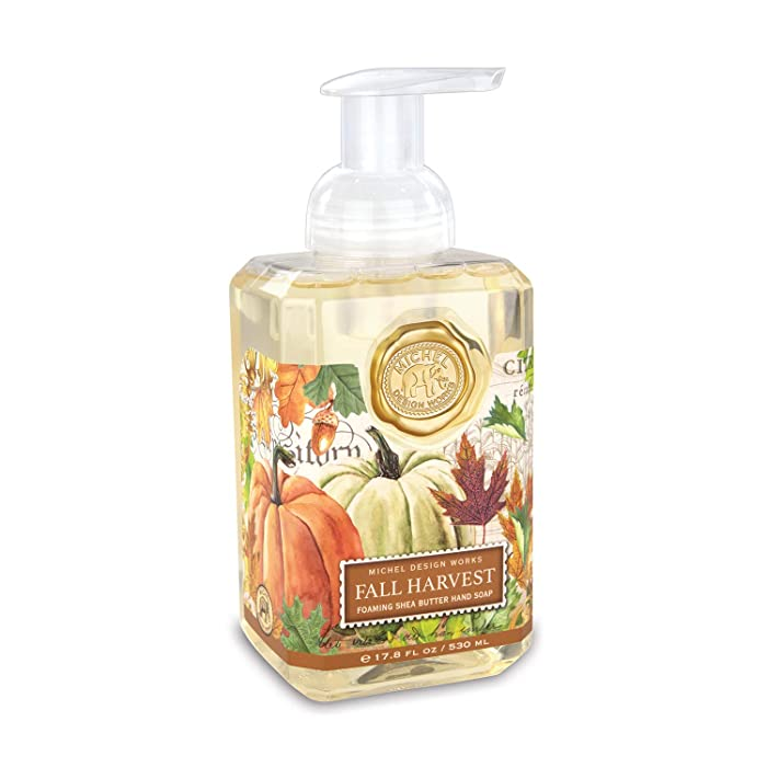Michel Design Works Scented Foaming Hand Soap, Fall Harvest