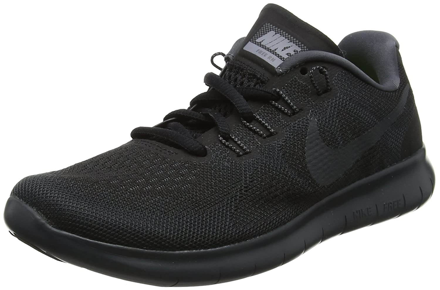 NIKE Women's Free RN 2017 Running Shoe B01K0NRL8A 12 B(M) US|black
