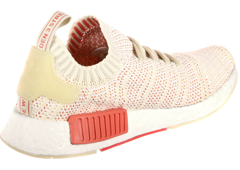 Adidas Damen NMD_r1 Stlt Weiß Primeknit Sneaker Linen-crystal Weiß-footwear Weiß Stlt (Cq2030) c03cfb