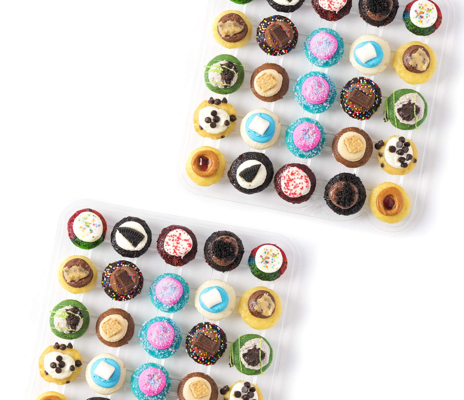 Baked by Melissa Cupcakes The Latest & Greatest - Assorted Bite-Size Cupcakes, 50 Count