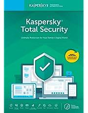 Kaspersky Total Seguridad 20185Dispositivo/1año [Código de tecla] (5-users)