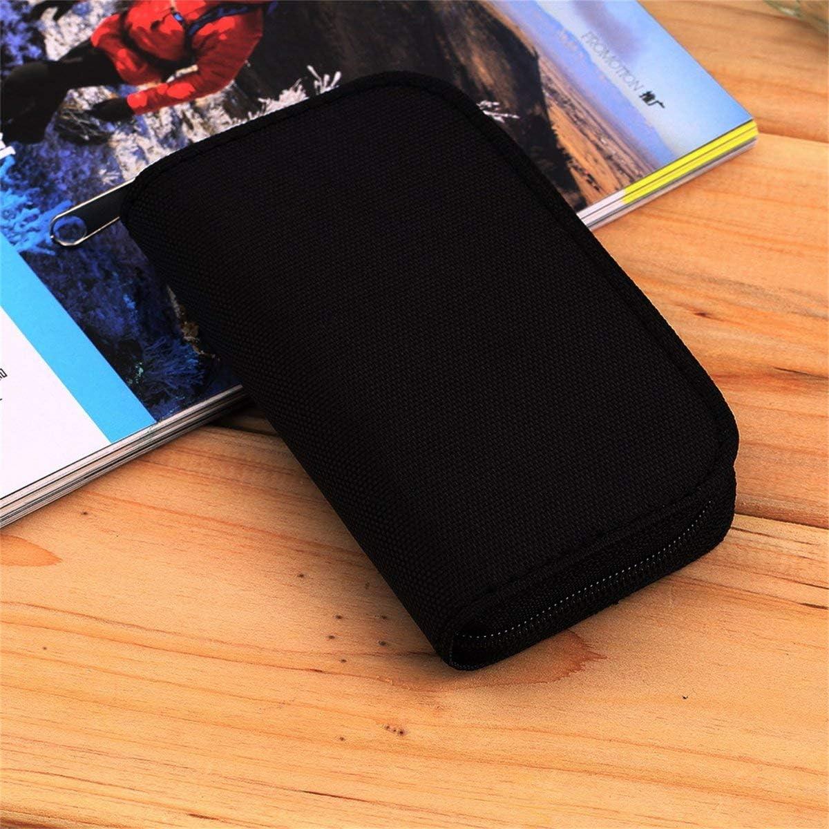 4 colores SD SDHC MMC CF para almacenamiento de tarjeta de memoria Micro SD bolsa de transporte caja estuche protector protector billetera tienda al por mayor