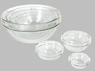 product image for Luminarc Glass 5.5 Inch Stackable Round Bowl