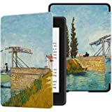 Huasiru Painting Case for All-New Kindle Paperwhite (10th Generation-2018 Only - Will Not fit Prior Generation Kindle Devices), Bridge