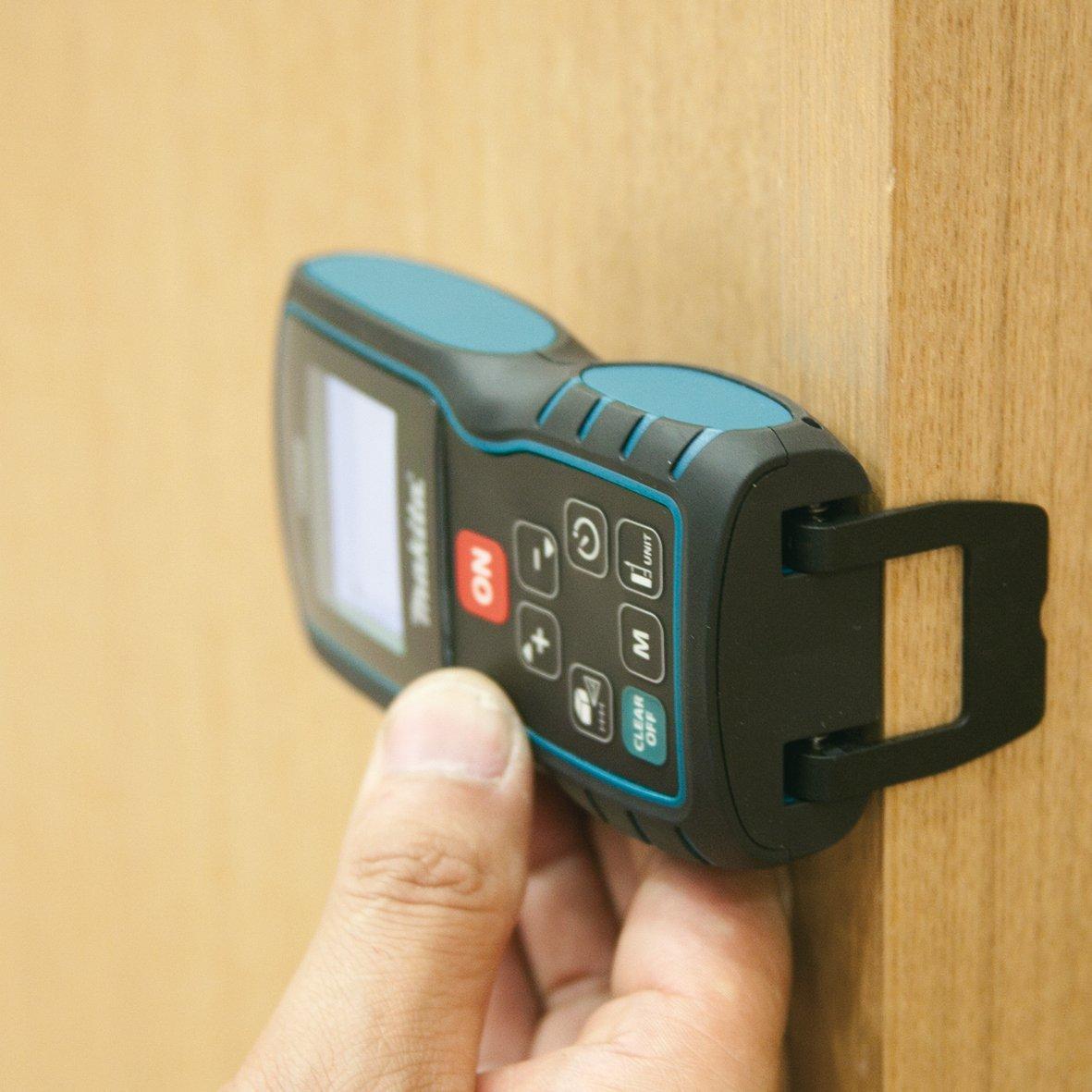 gesch/ützt /± 1.5 mm Distanzmessger/ät IP54 Makita LD080P  Professioneller Laser