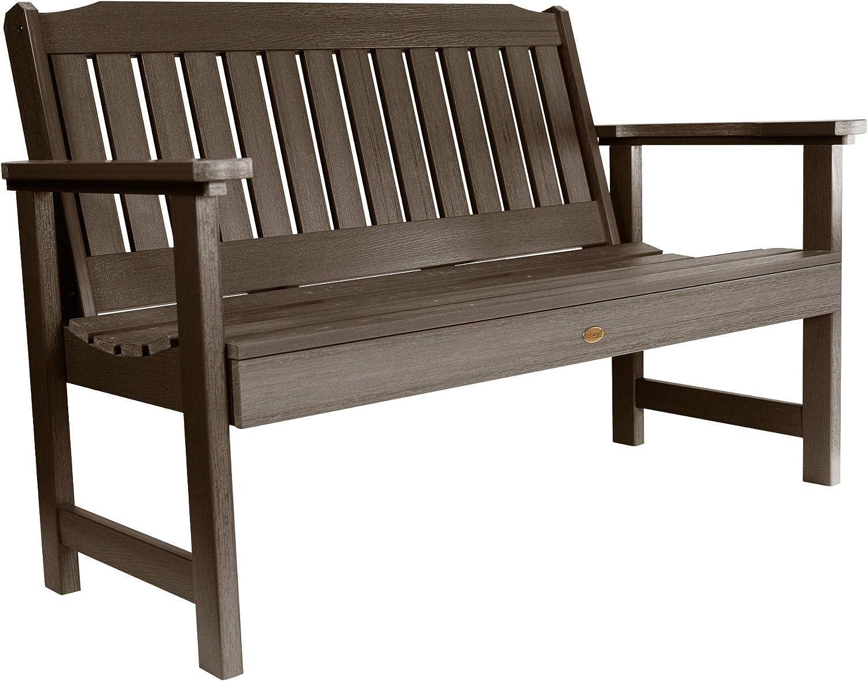 4 Feet,Tuscan Taupe highwood AD-BENW2-TAU Lehigh Garden Bench
