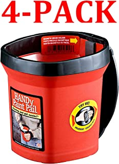 product image for Bercom 2500-CT Handy Paint Pail, Red (4-Pack)