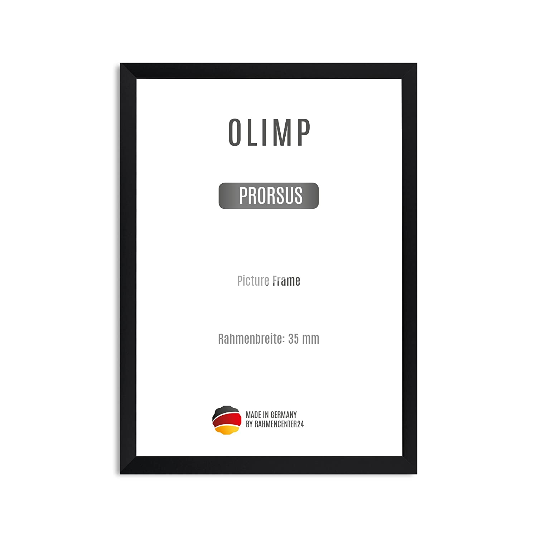 Olimp PRORSUS 35 mm Bilderrahmen 101 x 68 cm in Farbe Schwarz matt