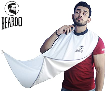 d726e8b15c9 Buy BEARDO Beard Bib Hair Clippings Catcher and Grooming Apron Online at  Low Prices in India - Amazon.in